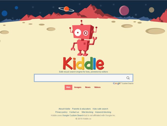Kiddle, el buscador web para niños.