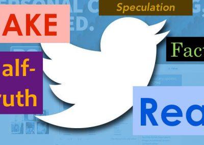 Ejemplo de Fake New: el día que un usuario de Twitter creó una batalla falsa del Estado Islámico.