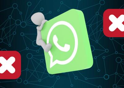 Recibir un whatsapp no te obliga a contestarlo.