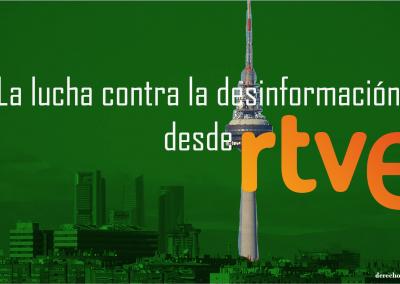 La lucha contra la desinformación desde RTVE.