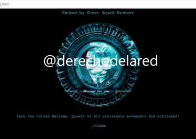 75 webs de la Organización Internacional para las Migraciones, víctimas de un defacement.