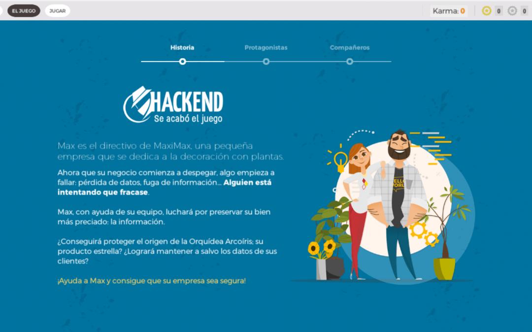 Hackend, el juego de INCIBE que nos enseña ciberseguridad.